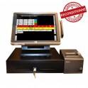Pack caisse enregistreuse tactile AP5000 - ultracaisse restaurant - Reconditionné
