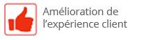 Amelioration de l'experience client