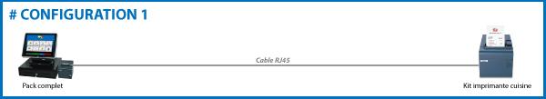 caisse enregistreuse tactile configuration monoposte
