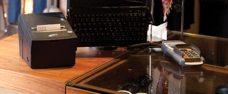 Digipos DS800 vue en caisse