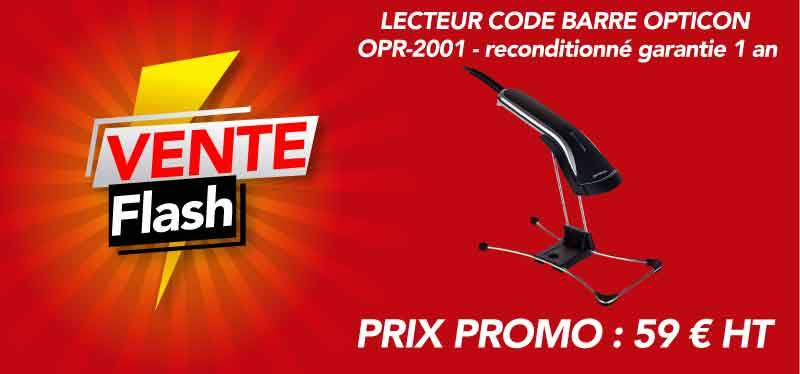 Vente flash Lecteur code barre Opticon OPR2001