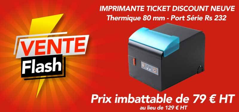 Vente flash imprimante ticket thermique pas cher discount imbattable