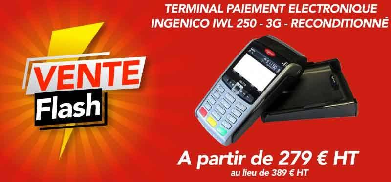 Vente flash sur tpe sagem IWL 250 - 3G