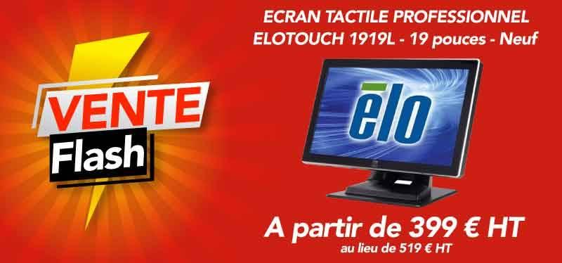 Vente flash sur Ecran Tactile Elotouch 1919L