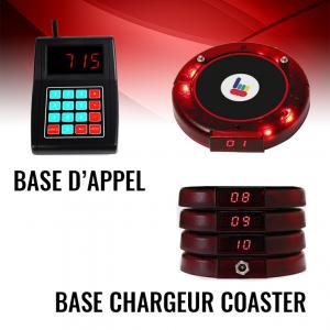 Bipeur Serveur Coaster - Top Prix
