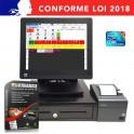 caisse enregistreuse restaurant pas cher HP RP7800 garantie 3 ans