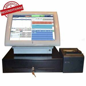 Caisse tactile enregistreuse commerce Posligne Odyssé 2 - avec imprimante ticket- tiroir caisse