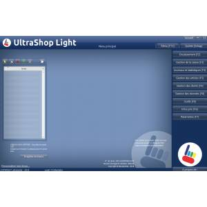 Logiciel caisse Commerce UltraShop light Conforme Loi 2018