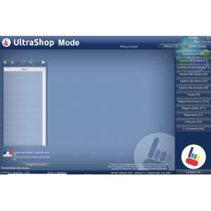 Logiciel caisse Commerce UltraShop Mode
