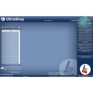 Logiciel commerce UltraShop pro Monoposte