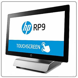 configuration HP RP9
