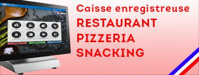 Pack complet caisse enregistreuse restaurant snacking bar pas cher