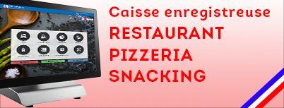Pack complet caisse enregistreuse restaurant snacking bar pas cher